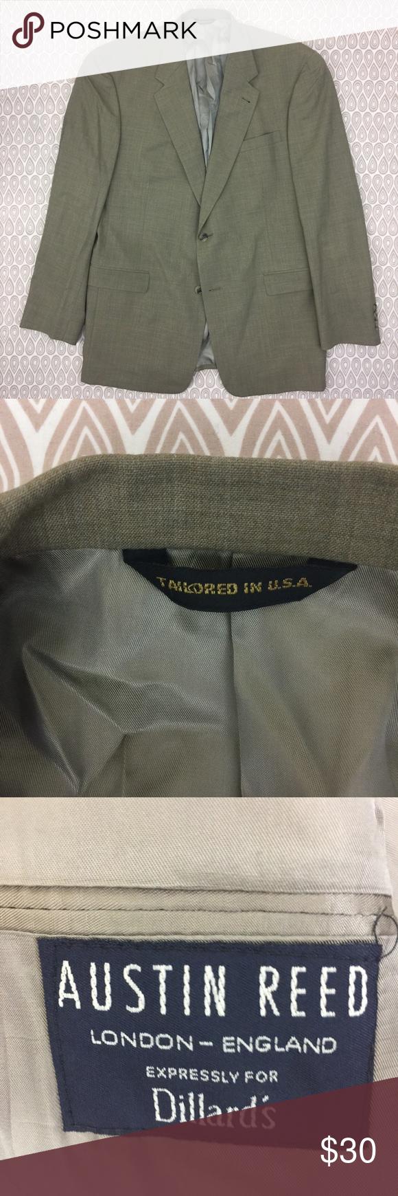 Austin Reed Men S Suit Jacket Blazer Size 46 L P99 Mens Suit Jacket Suit Jacket Blazer Jacket