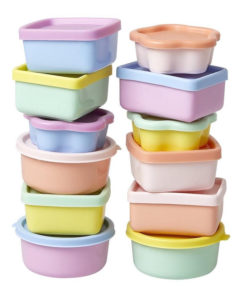 e006f08d04f5 Colorful Pastel Mini Food Containers by Rice in 2019   All Gifts ...