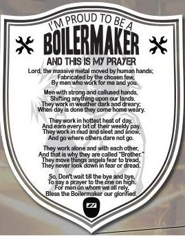 i 39 m proud to be a boilermaker and this is my prayer boilermaker pinterest. Black Bedroom Furniture Sets. Home Design Ideas
