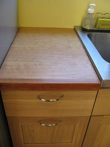 plywood countertops for the home