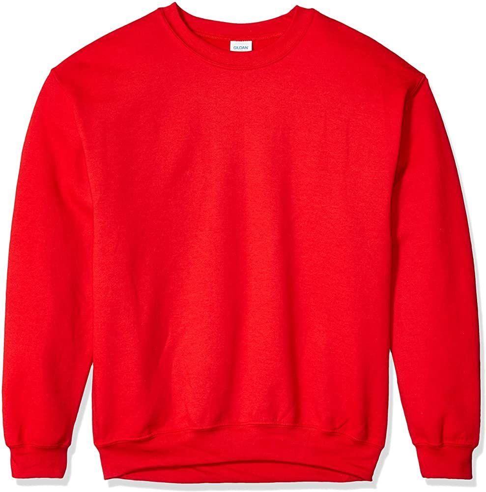 Gildan Men S Heavy Blend Crewneck Sweatshirt Large Black At Amazon Men S Clothing Store Sweatshirts Mens Fleece Crew Neck Sweatshirt [ 1000 x 989 Pixel ]