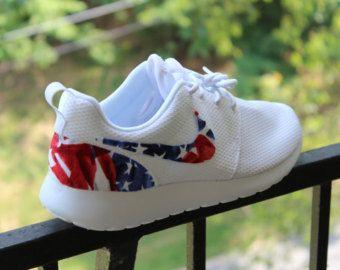 nike roshe run american flag pride custom