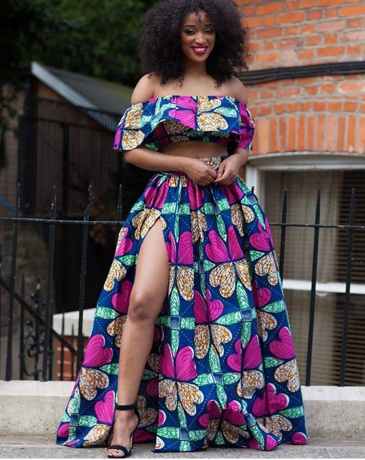 1000 Images About African Print 2 Piece Outfit On: Image Result For Off Shoulder Ankara Styles