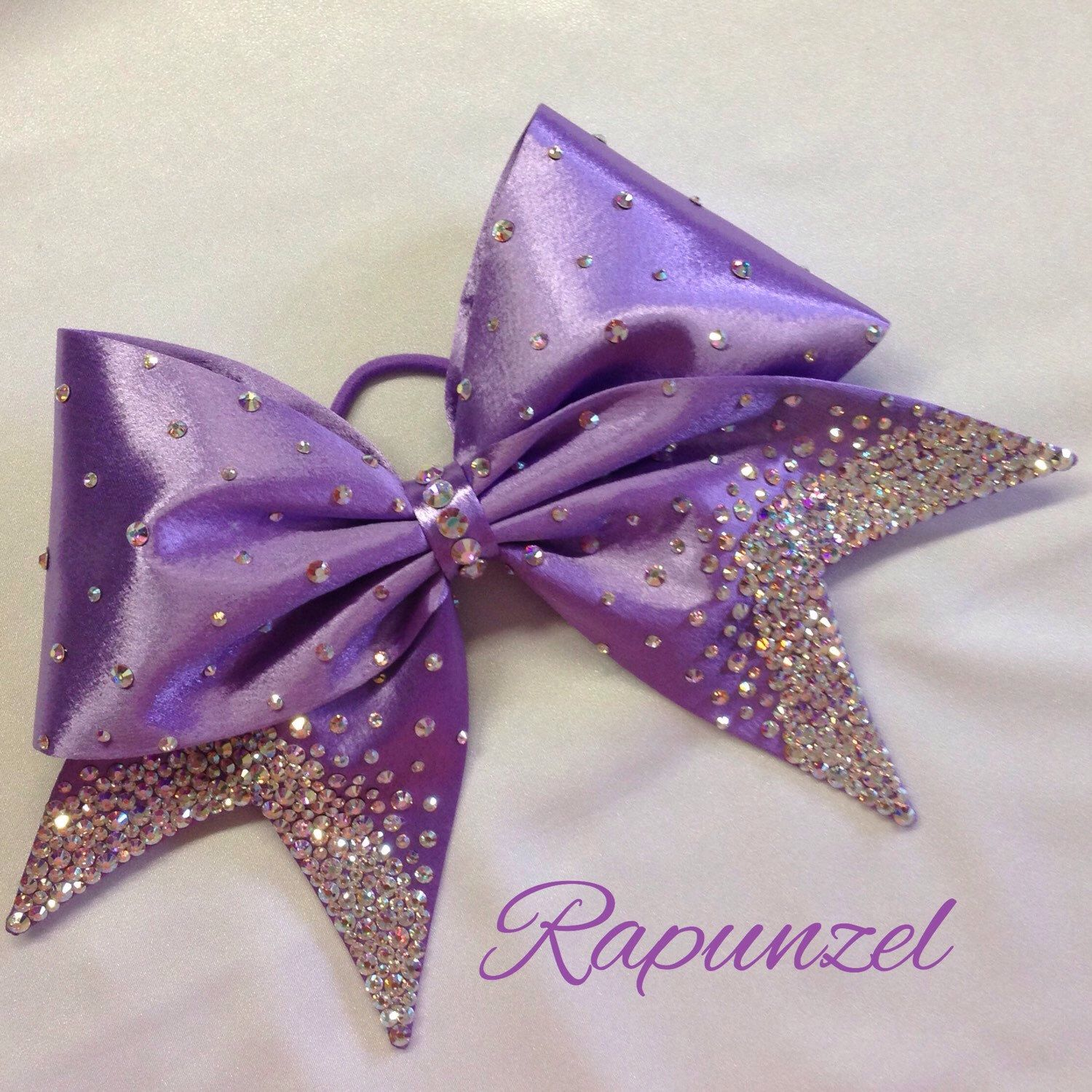 Cheer bow holder for cheer bows and hair bows cheer bow hanger - Items Similar To Rapunzel Hand Sewn Fabric Cheer Bow On Etsy