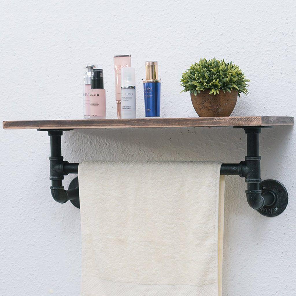 Pin On Bathroom Shelf Ideas