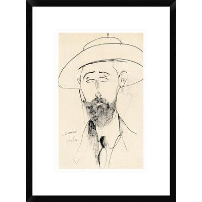 Global Gallery Dermee by Amedeo Modigliani Framed Painting Print Size: