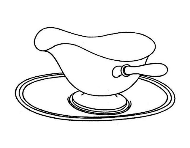 Aneka Gambar Mewarnai Peralatan Dapur