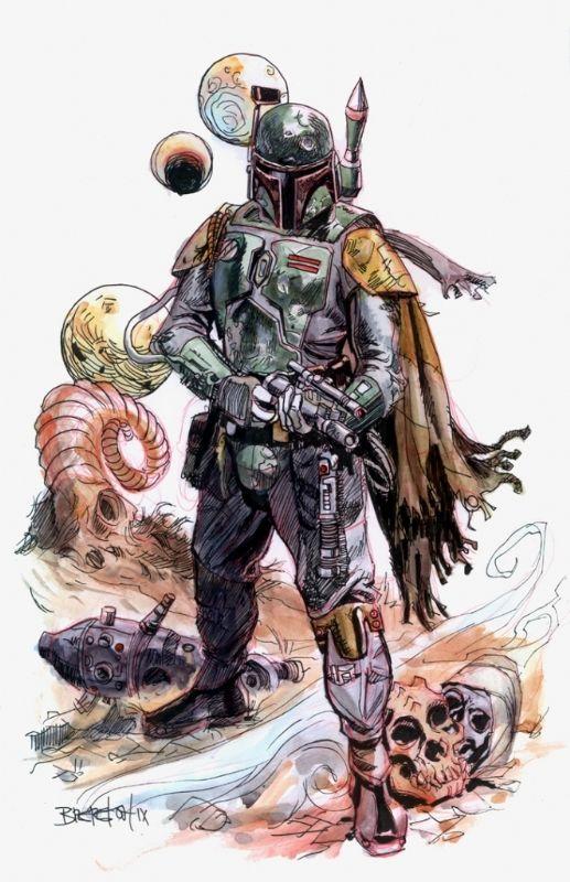 Star Wars - Boba Fett by Dan Brereton