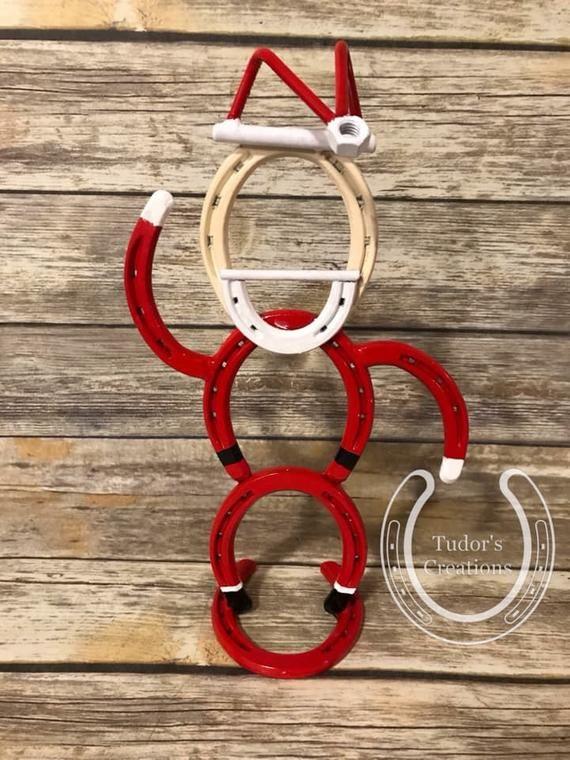 Christmas Horseshoe Art.Pin On Products