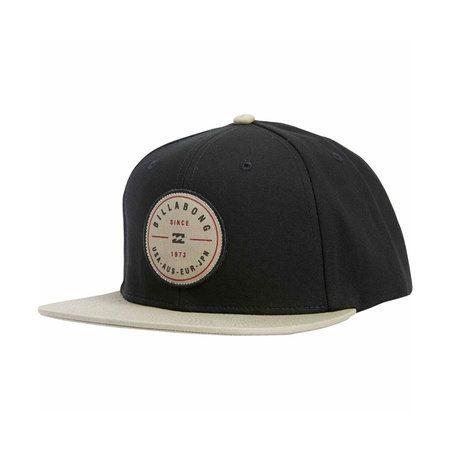 Billabong Rotor Snapback Hat Black Tan Hats For Men Hats Snapback Hats