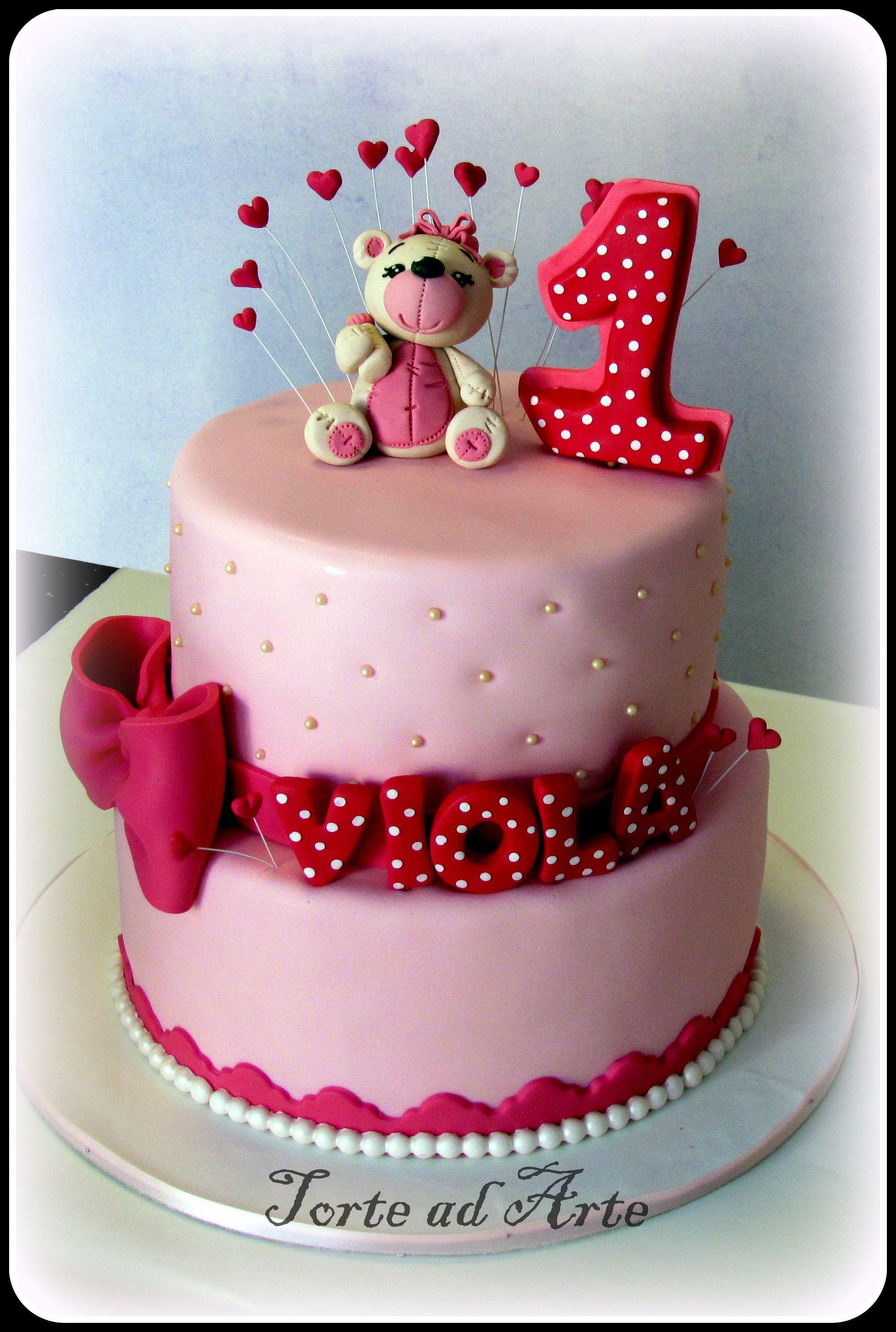 Torta primo compleanno bimba idee primo compleanno bimba for Idee per torta di compleanno