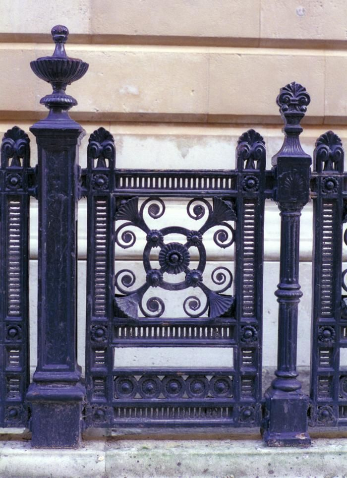 Paint Colors For Iron Gates And Fences Iron Gates Railings