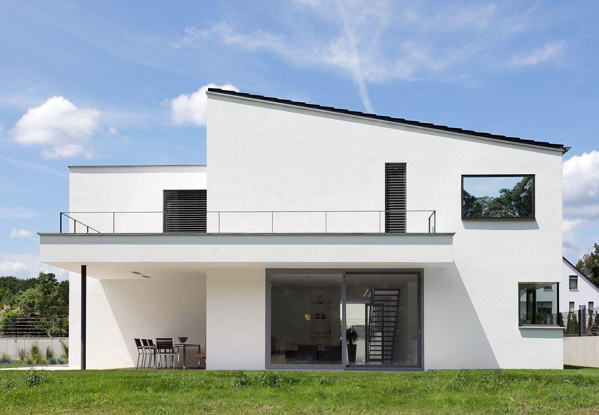 Berschneider berschneider architekten bda Minimalistisches haus grundriss