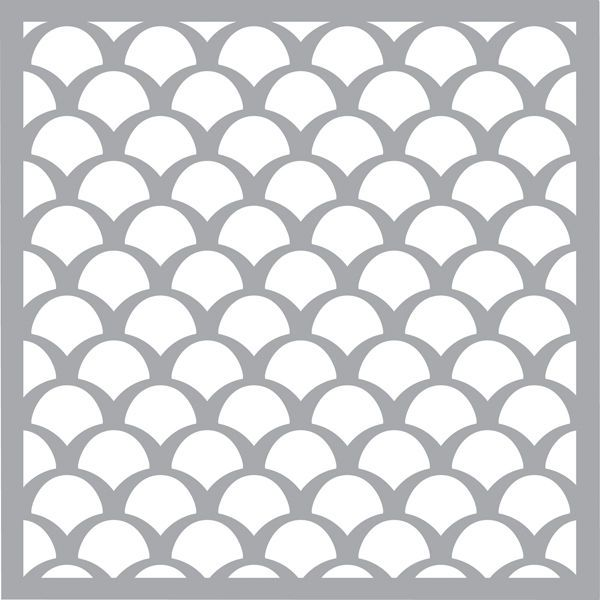 pronty stencils masks template fishscale 470 craft