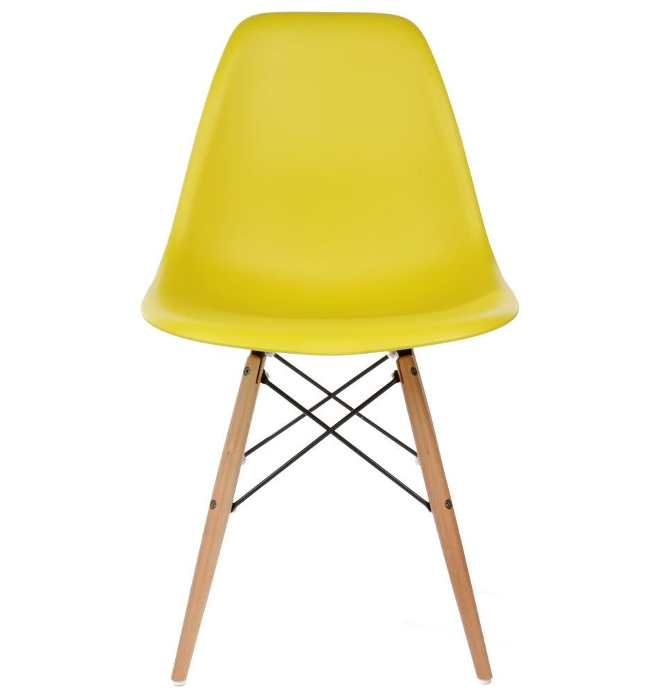 The Matt Blatt Replica Eames Dsw Side Chair Plastic By Charles