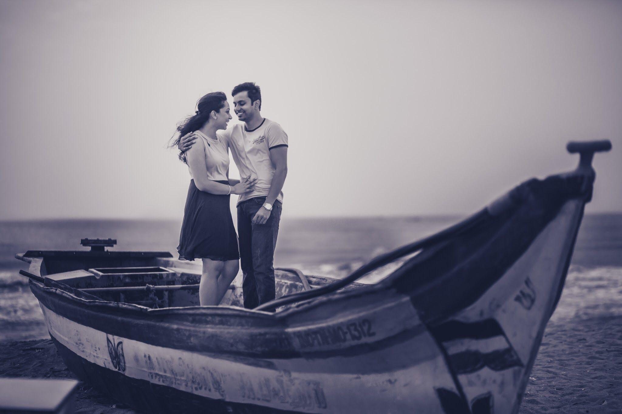 Couple Shoot At Elliot Beach Besantnagar Chennai Couple Shoot