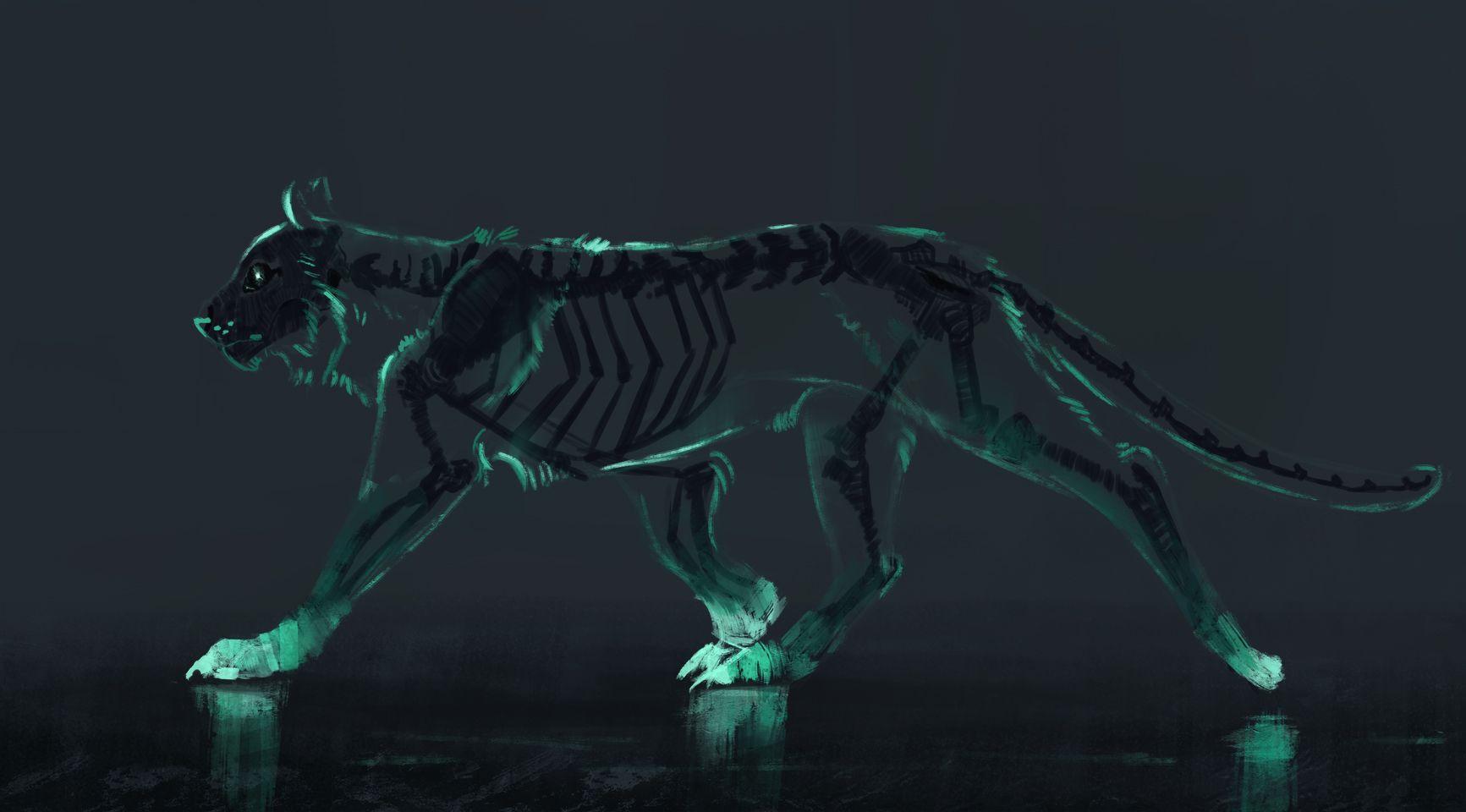 Farewell   Mythical creatures art, Big cats art, Creature art