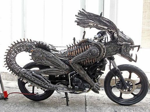 Remarkably An Artist Has Made It Out Of Spare Parts This Awesome