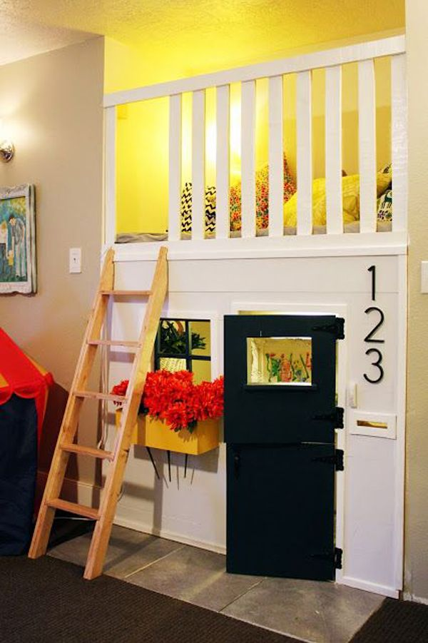 15 awesome indoor playhouses for kids kids play room kids rh pinterest com