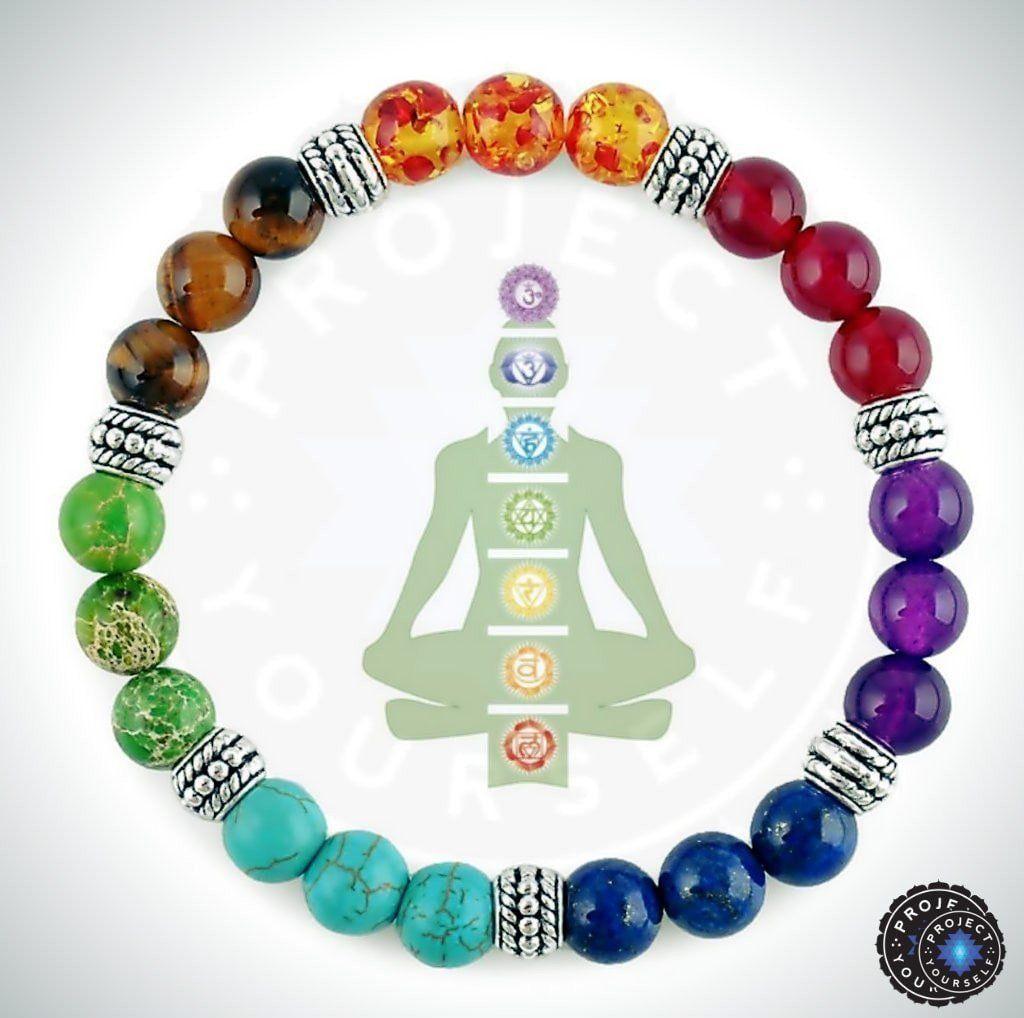 7 chakra healing crystals bracelet crystal bracelets