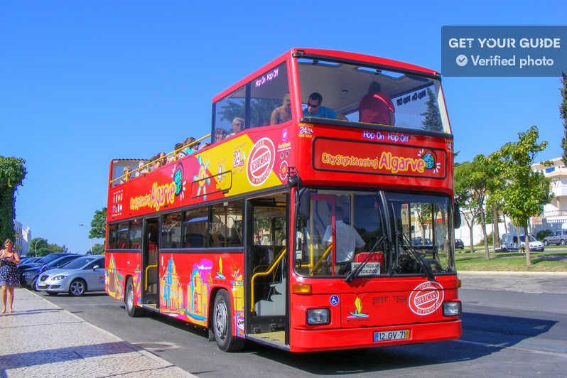 Albufeira City Sightseeing Hop On Hop Off Bus Tour Albufeira Portugal Getyourguide Attraction Tickets Sightseeing Tours