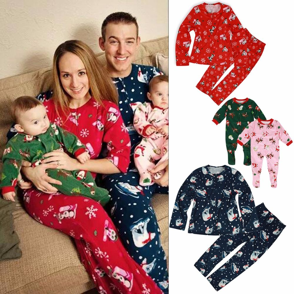 966865be0dfe Family Christmas Pajama Family Matching Clothes Matching Mother Daughter  Father Son Mom   Dog New Year Family Look