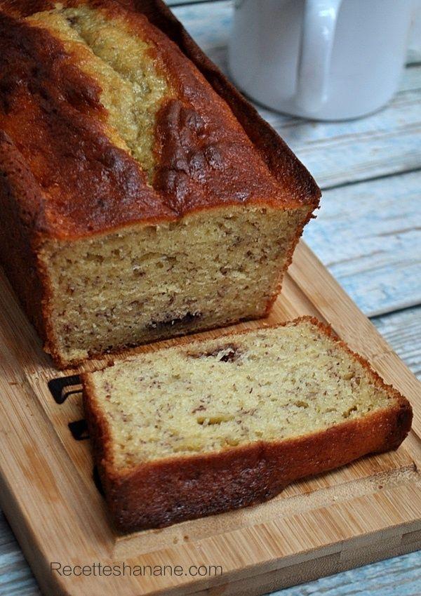 cake à la banane, chocolat, mascarpone  très très moelleux
