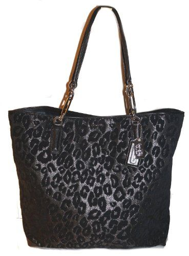 Coach Madison North/South Tote In Chenille Ocelot for only $248 00