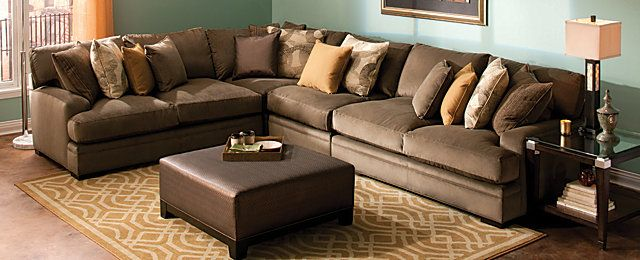 Cindy Crawford Fontaine Casual Living Room Collection Design