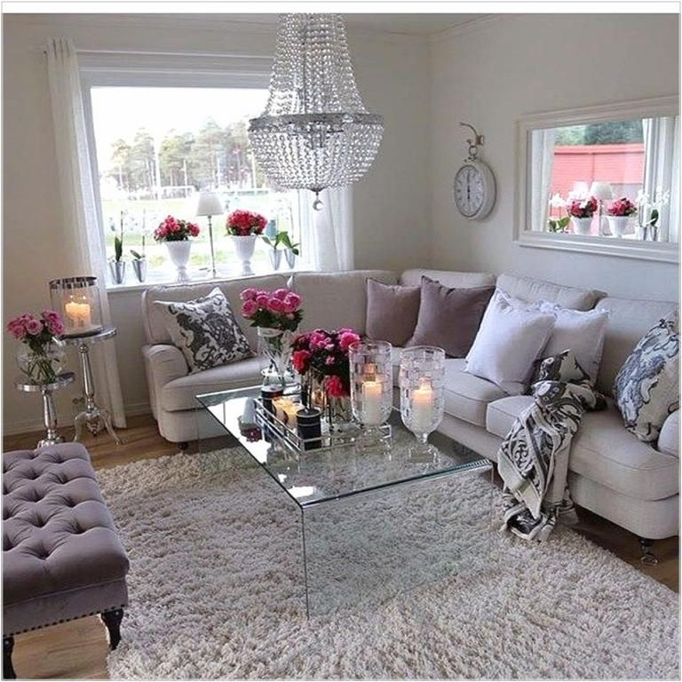 Girly Living Room Cute Living Room Apartment Decor