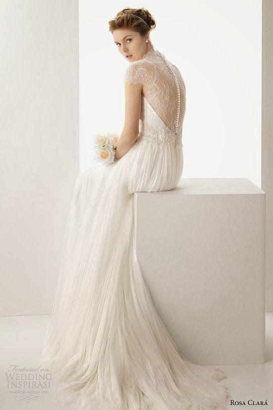 rosa clara 2014   chiffon hochzeitskleid, hochzeitskleid