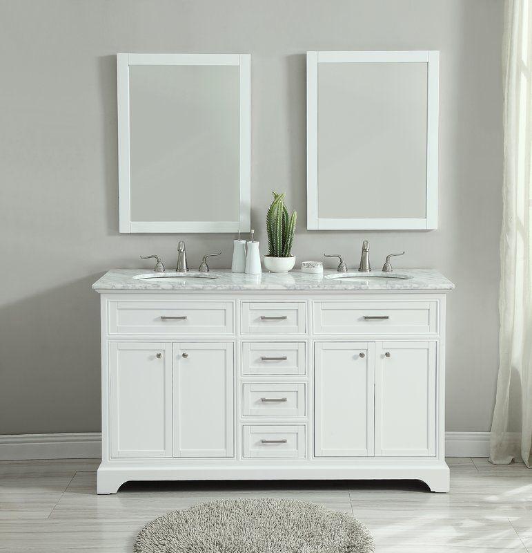 Darry 60 Double Bathroom Vanity Set Double Vanity Bathroom