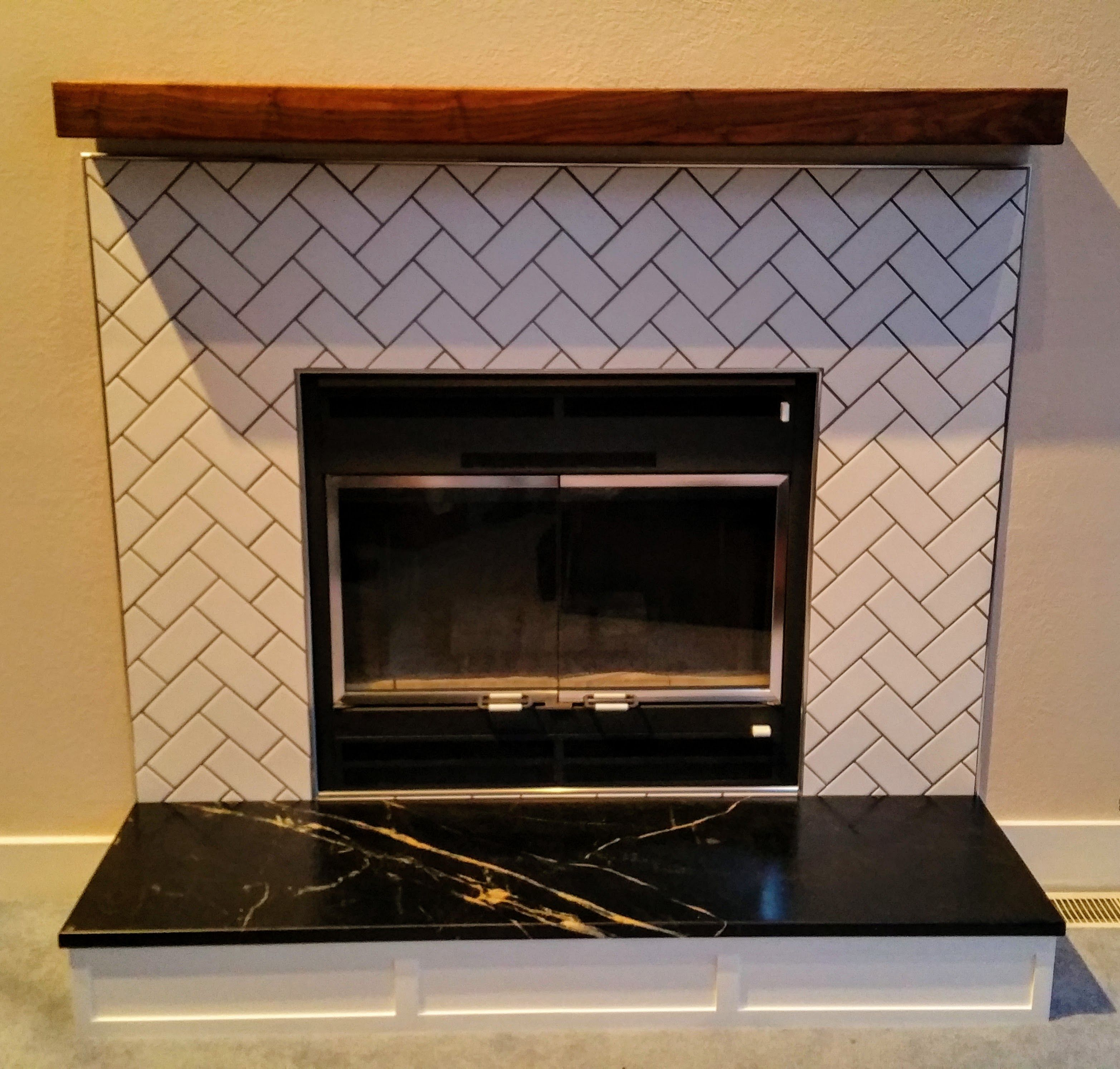 Reclaimed Mantles Fireplace Tile Surround Fireplace Tile Fireplace