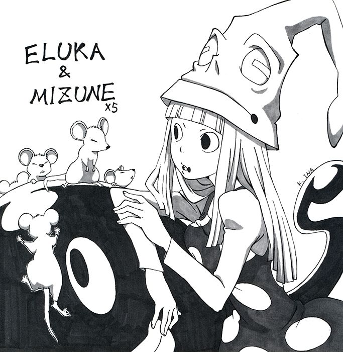 Eruka Mizune Soul Eater Soul Eater Soul And Maka Death The Kid