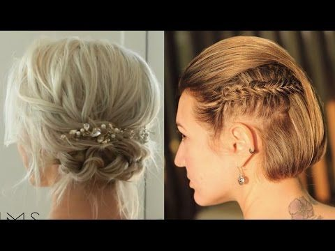 peinados para cabello corto sencillas y bonitas hairstyles for short hair easy u cute