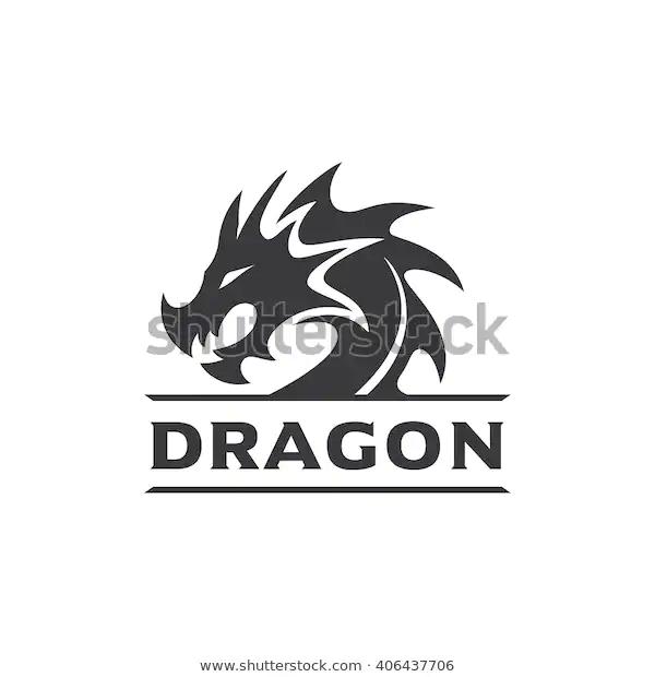 Dragon Head Vector Logo Stock Vector Royalty Free 406437706 Logo Dragon Dragon Head Vector Logo