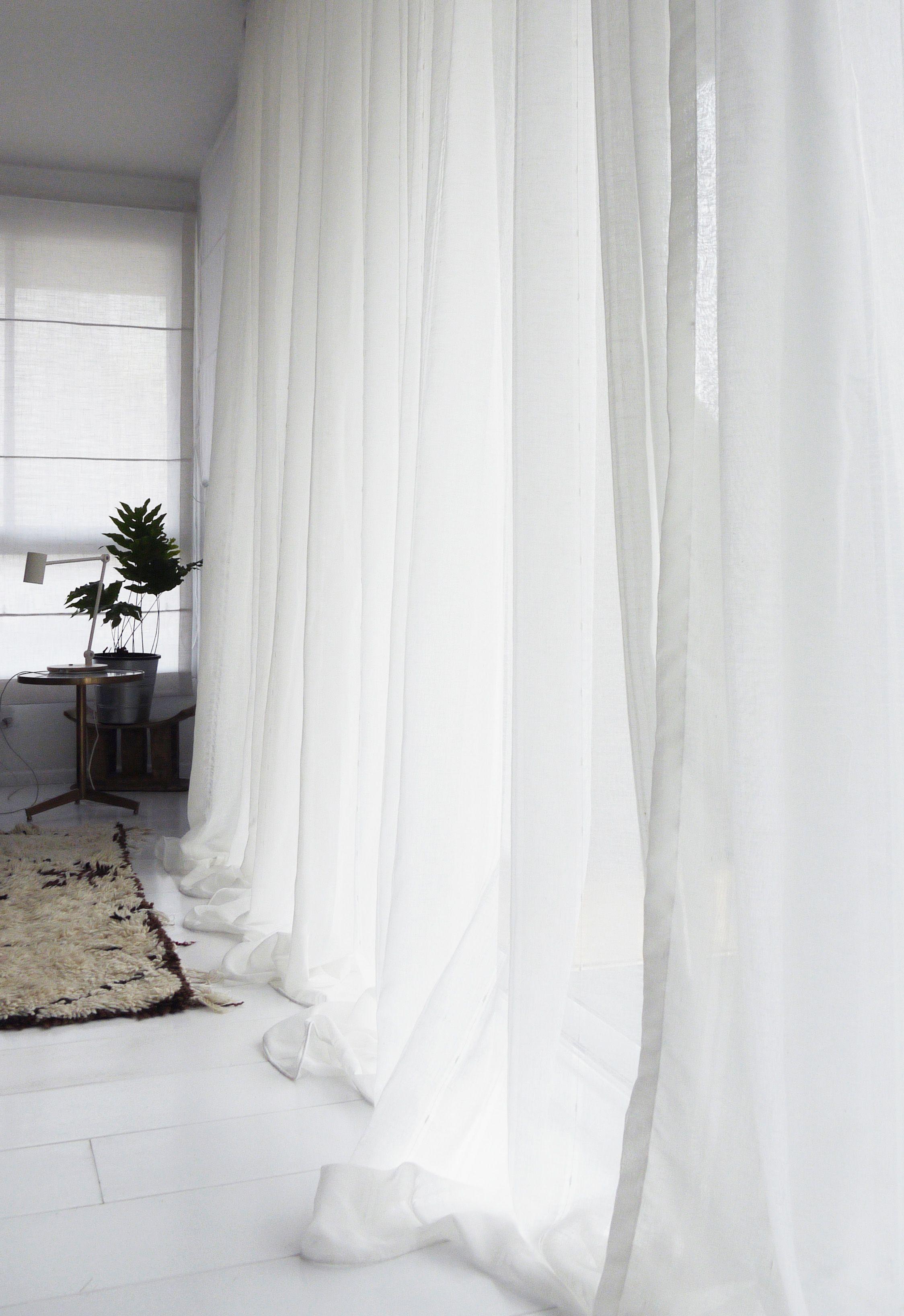 White Bedroom Safari Style Scandinavian Nordic Penthouse