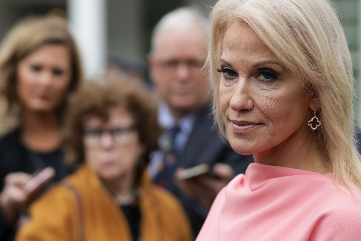 Trump Advisor Kellyanne Conway Finally Quits The Mary Sue In 2020 Trump Advisors Conway Joe Biden