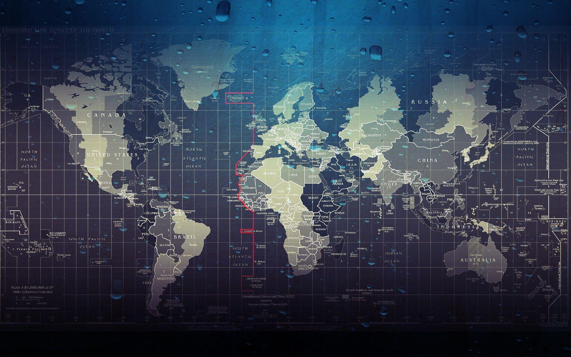 Image result for world map wallpaper | C+R Office | Pinterest