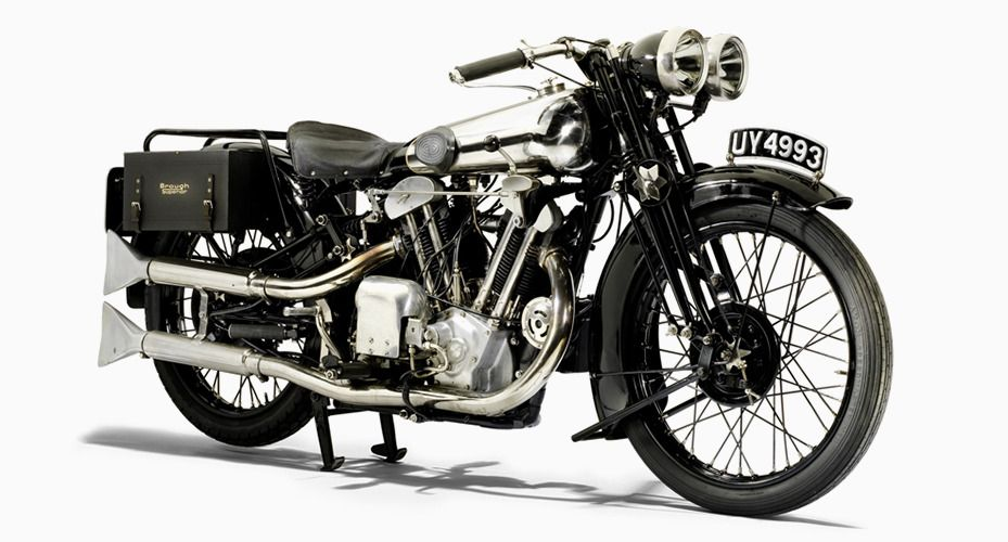 A Rare British Beauty From Lawrence of Arabia's Favorite Motorcycle Maker