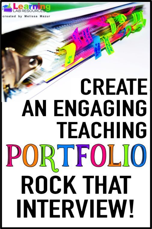 Learn tips and tricks for creating the best teaching portfolio for - interview tips