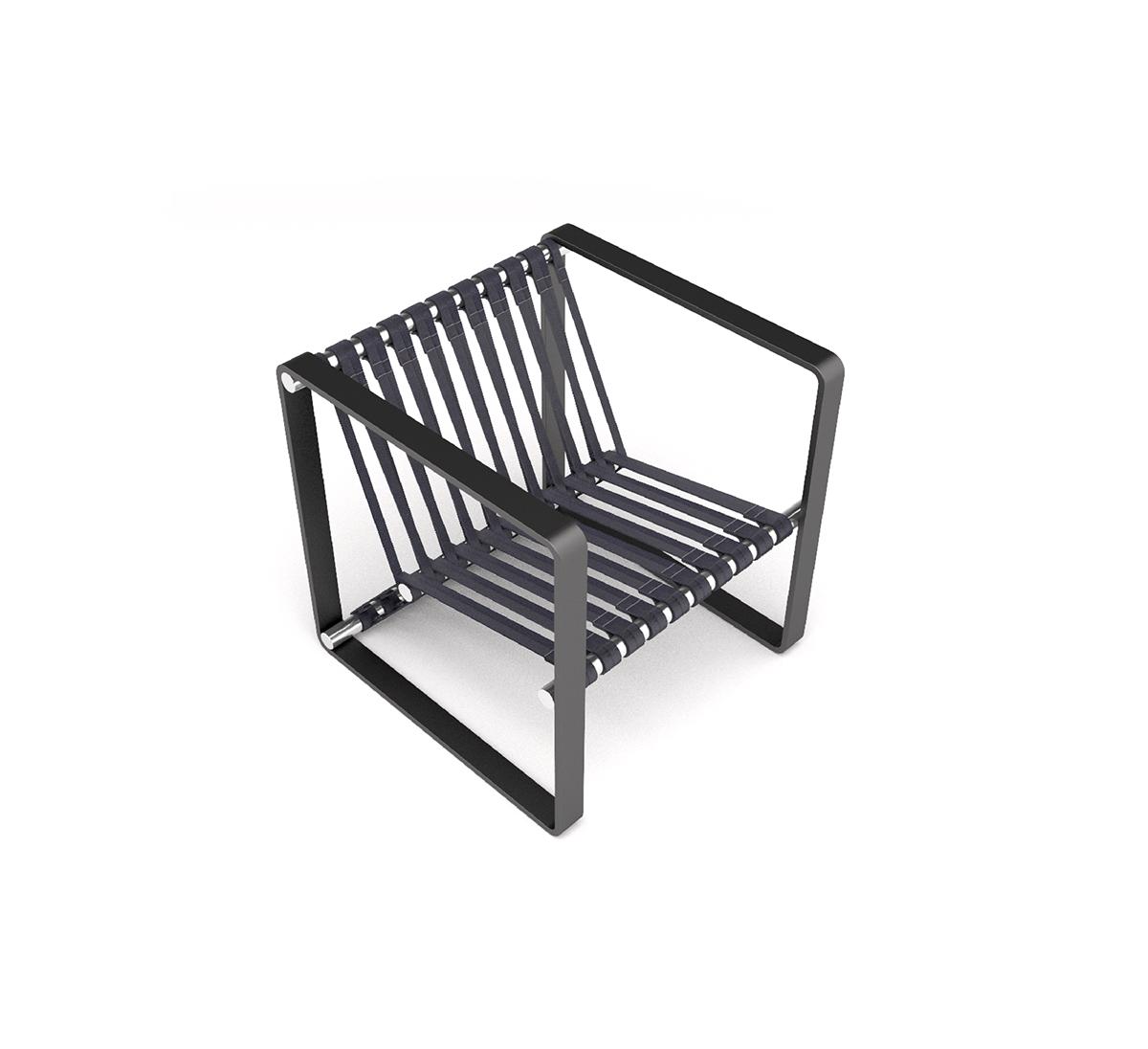 Box Chair on Behance