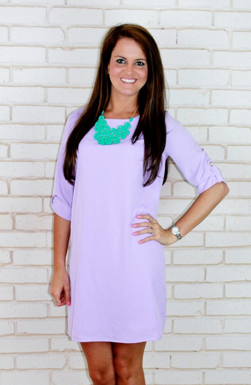 Amour Boutique - Simply Sophisticated Shift: Lavender, $43.00 (http://www.shopamourboutique.com/simply-sophisticated-shift-lavender/)