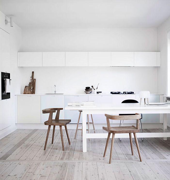 cocinas blancas Cocinas blancas Pinterest Cocina blanca