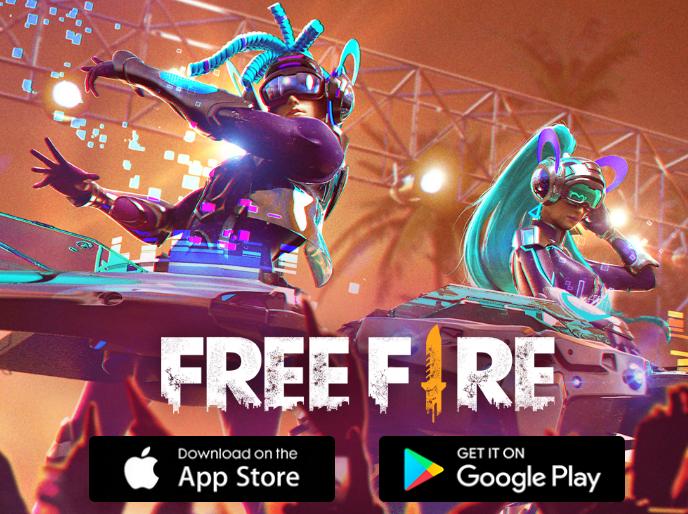 لعبة فري فاير Free Fire من اشهر العاب الباتل رويال battle