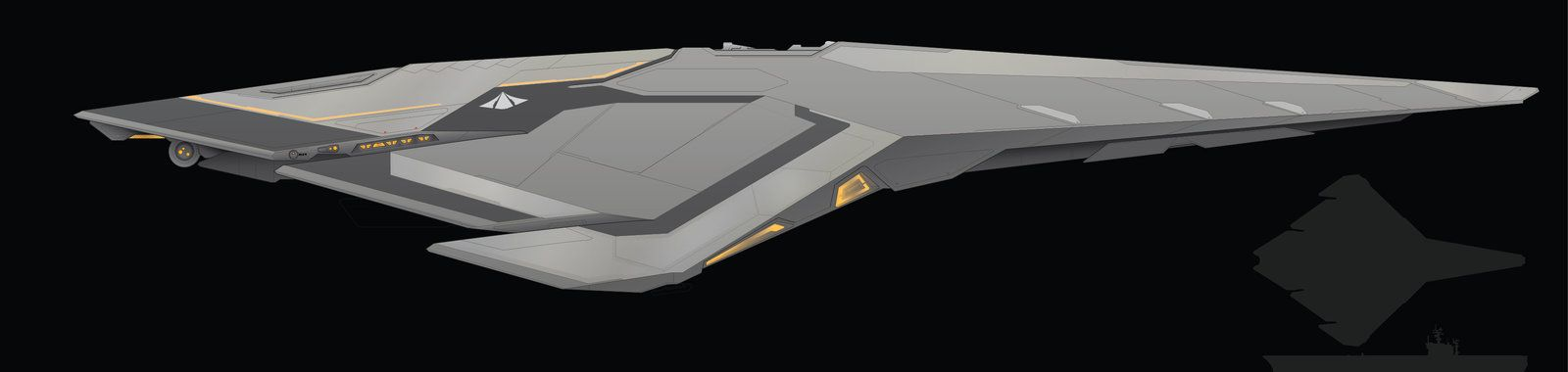 Starwolf-Class Fast Attack Stealth Cutter WIP by ChroniclesofMan
