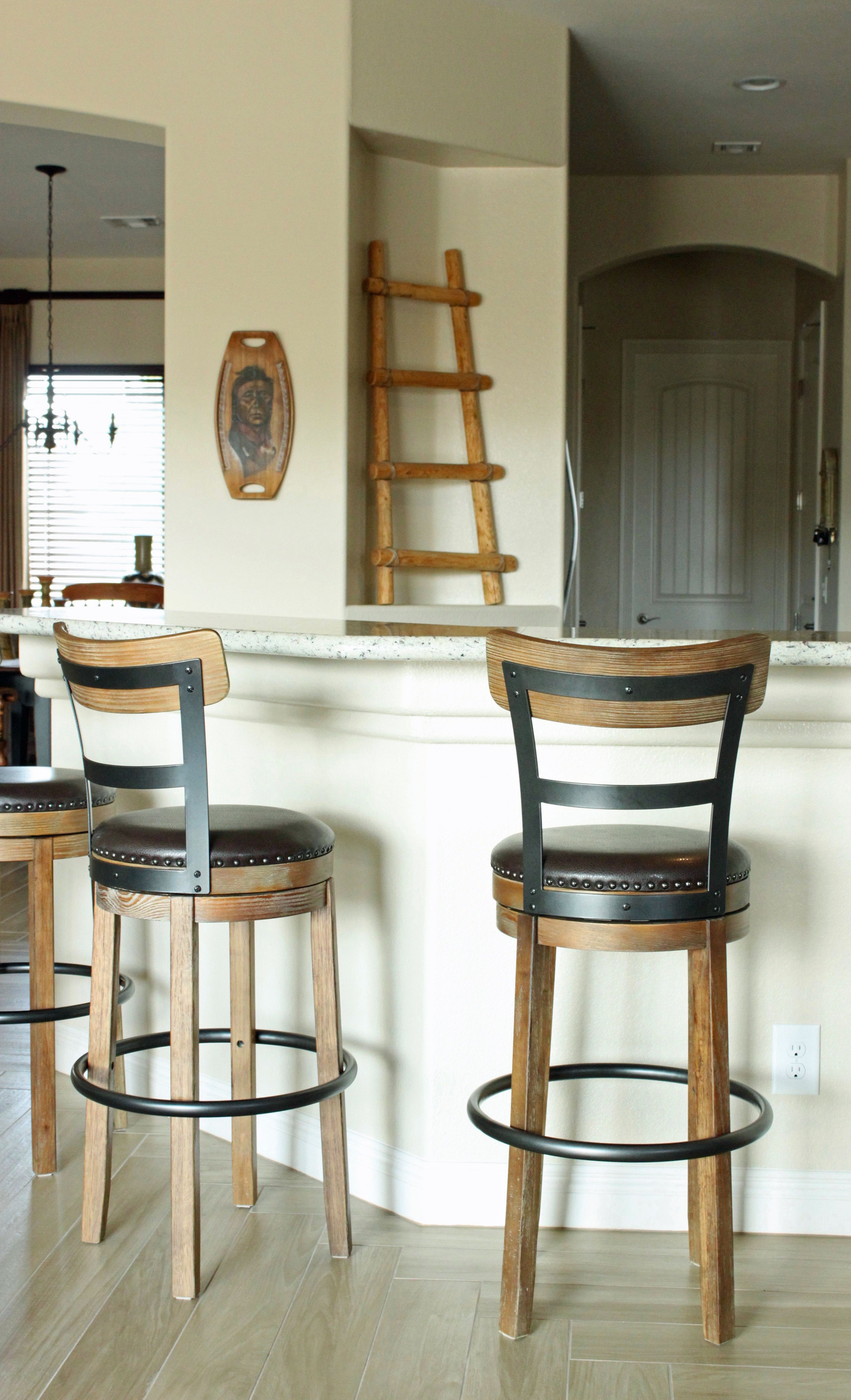 Swivel Bar Stools From Ashley Furniture Interior Design