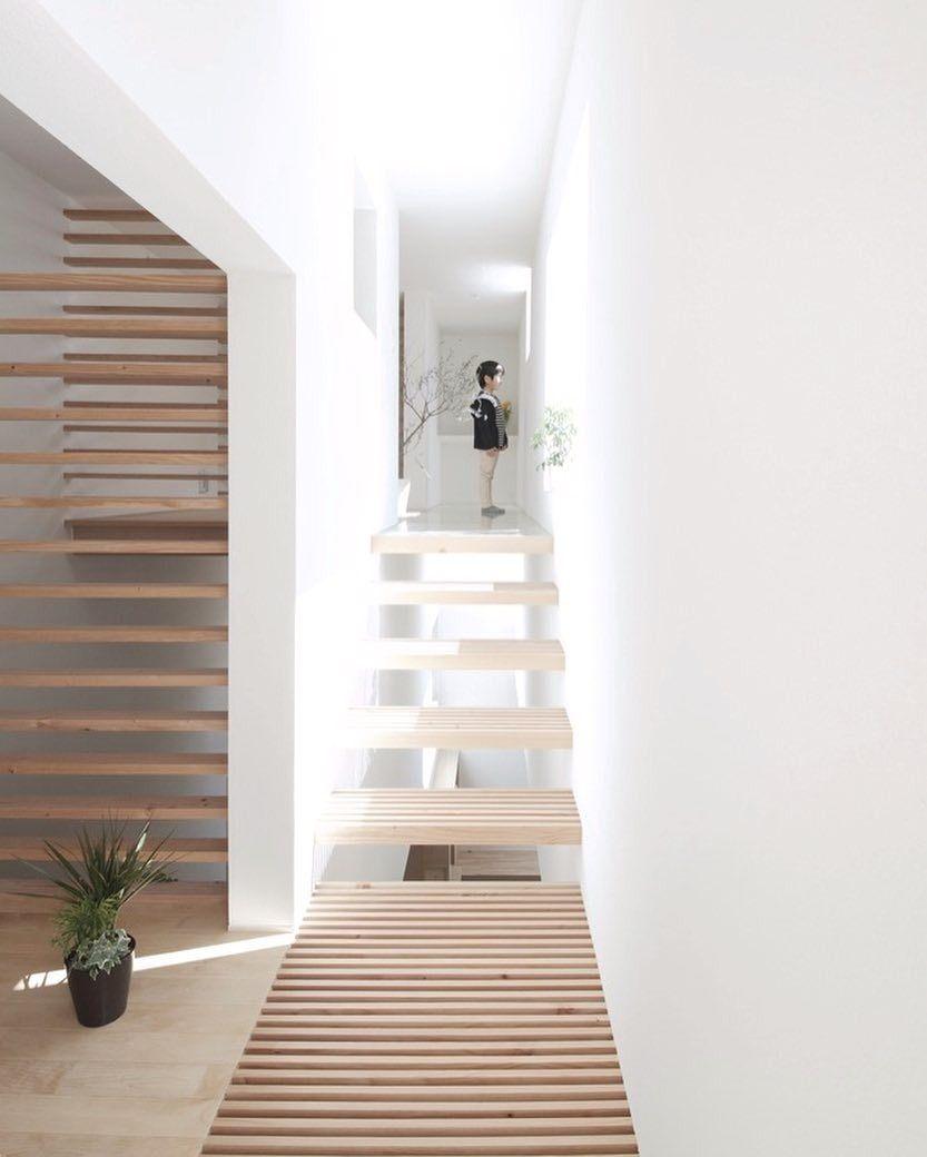 Home Decoration Design Minimalist Interior Design Staircase: Katsutoshi Sasaki Associates Designed This Suburban