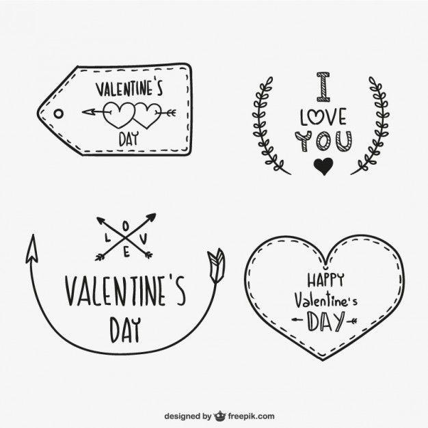 Valentine S Day Ornaments Dessin Saint Valentin Carte Saint