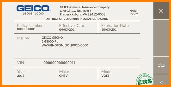 Download Auto Insurance Card Template WikiDownload ...